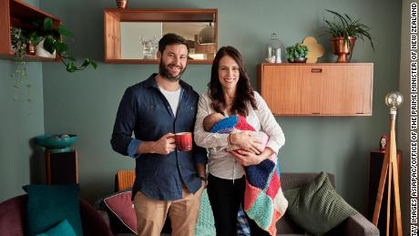 New Zealand PM back to work after maternity leave