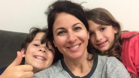 'Criminal Minds' showrunner Erica Messer with her children.