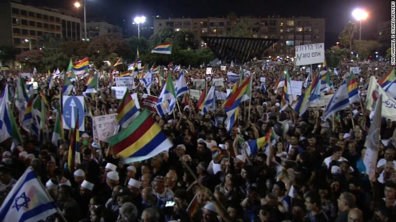 Israel's Druze rally against Jewish state law in Tel Aviv