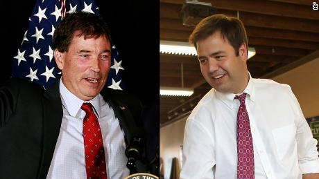 Troy Balderson and Danny O'Connor