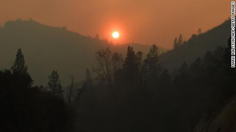 Waking up to a burning California