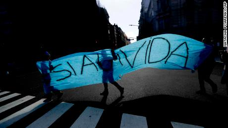 Argentina's Senate Rejects Legalizing Abortion, Dashing Hopes Of Rights Advocates class=