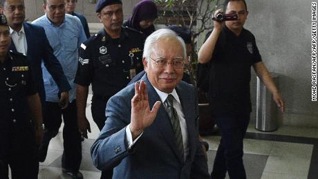 Najib Razak pleads not guilty to money laundering charges