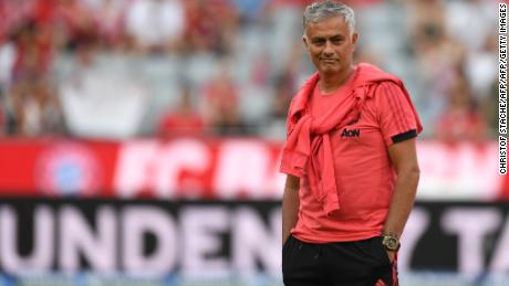 Right on schedule, Jose Mourinho is having a meltdown at Manchester United