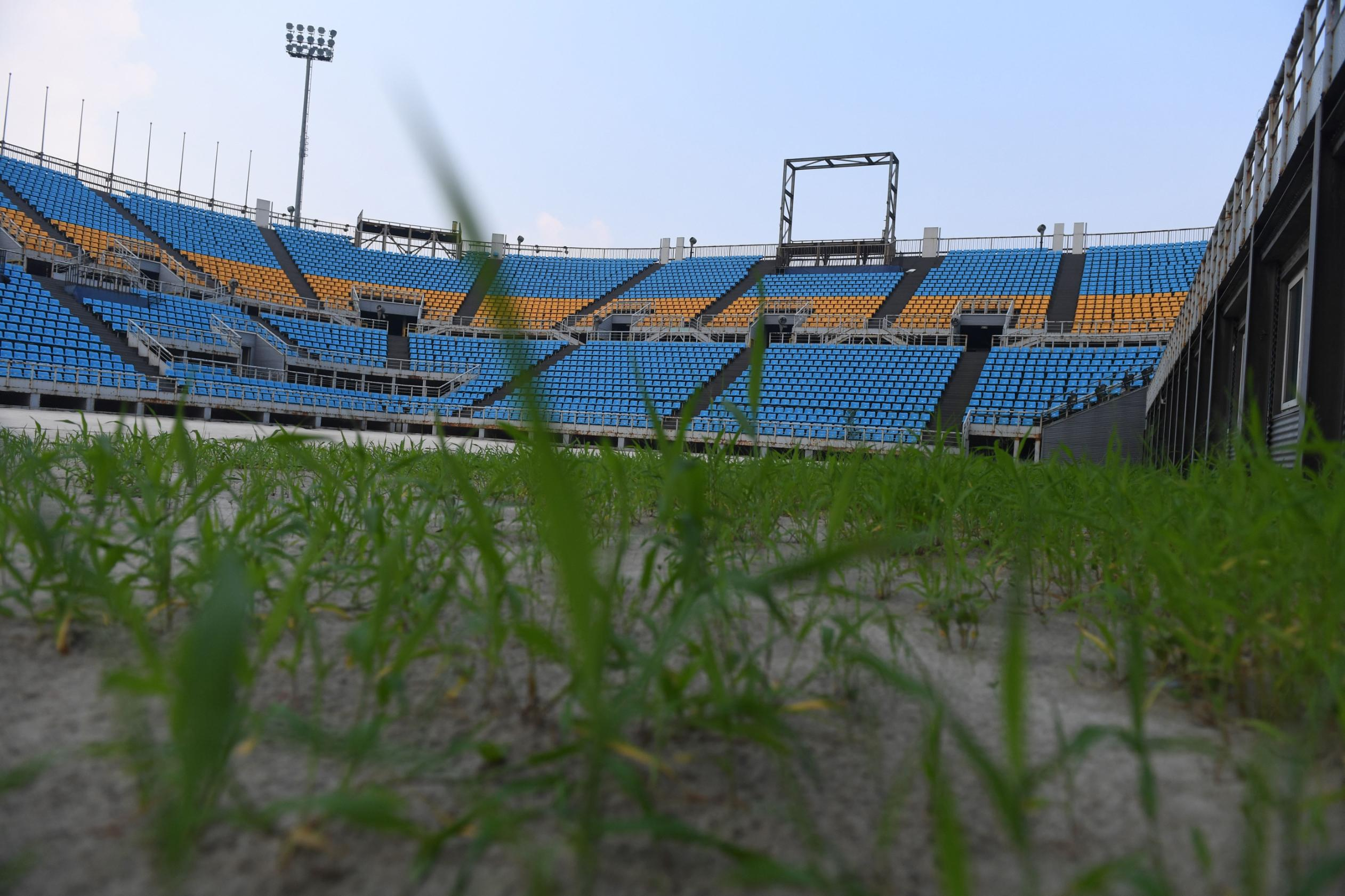 Beijing S Abandoned Olympic Venues In
