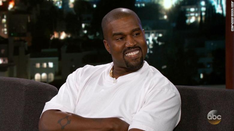 Kanye West denies being 'stumped' on 'Kimmel'