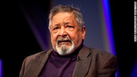 VS Naipaul, British author, dies aged 85