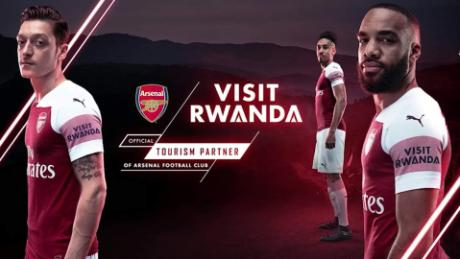 Arsenal sponsored by... Rwanda