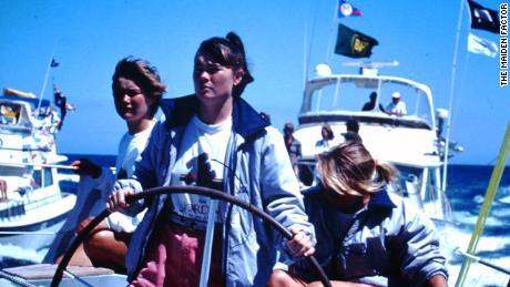 Edwards on-board Maiden in Australia.