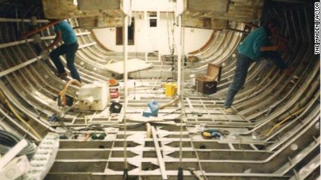 Rebuilding Maiden in 1988.