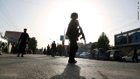 Gunmen attack intelligence training center in Kabul