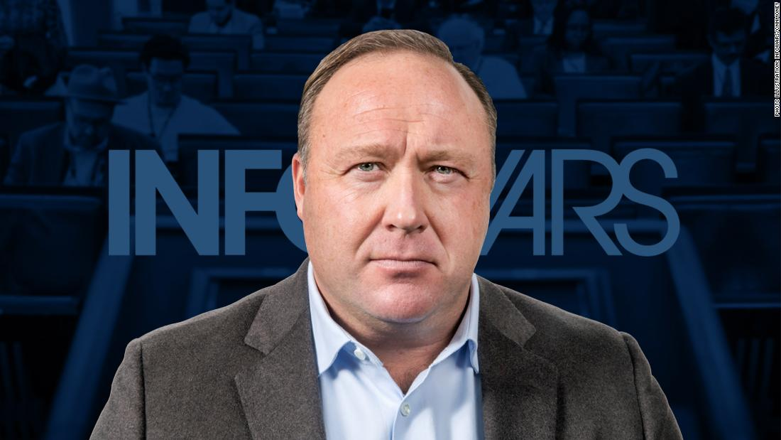 Alex Jones says 'form of psychosis' made him believe events like Sandy Hook massacre were staged - CNN