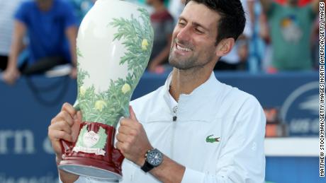 Djokovic is ranked No.10 in the world.