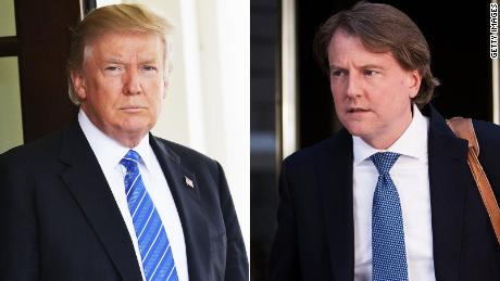 Trump Confirms Exit Of White House Counsel McGahn