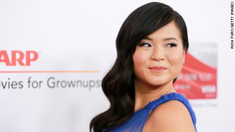 Kelly Marie Tran at AARP's 17th Annual Movies For Grownups Awards in 2018.