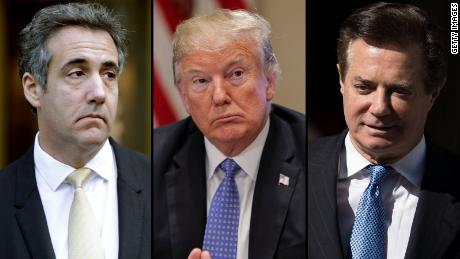 Manafort and Cohen have left Trump at a precipice