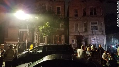 Chicago fire: at least eight dead including six children, officials say