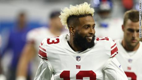 Giants are trying to trade Odell Beckham Jr., per report