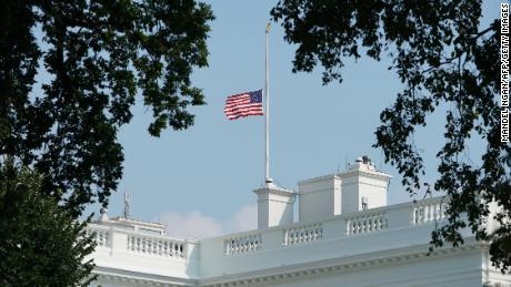 Bob Dole Salutes President Bush One Last Time