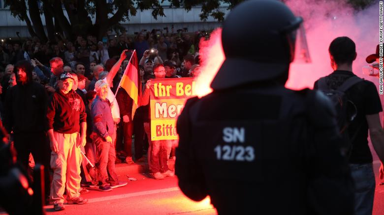 Germany: Migrant beaten with iron chain as far-right violence spreads