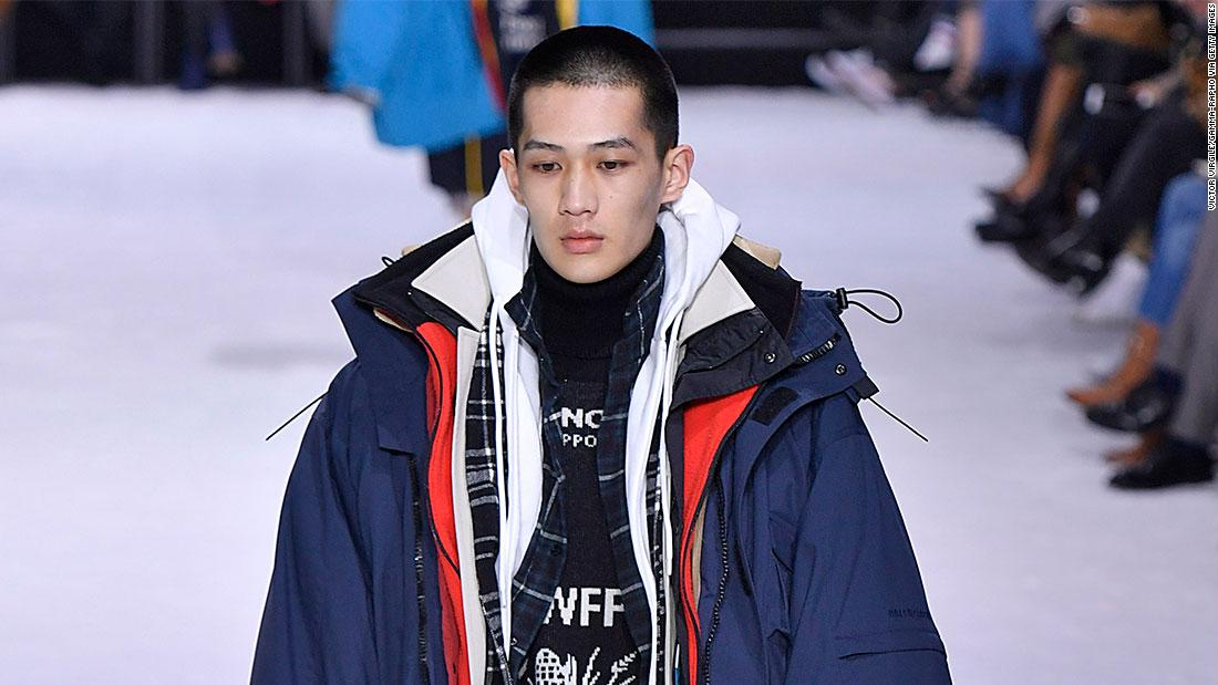 Balenciaga's viral layered parka costs thousands - CNN Style