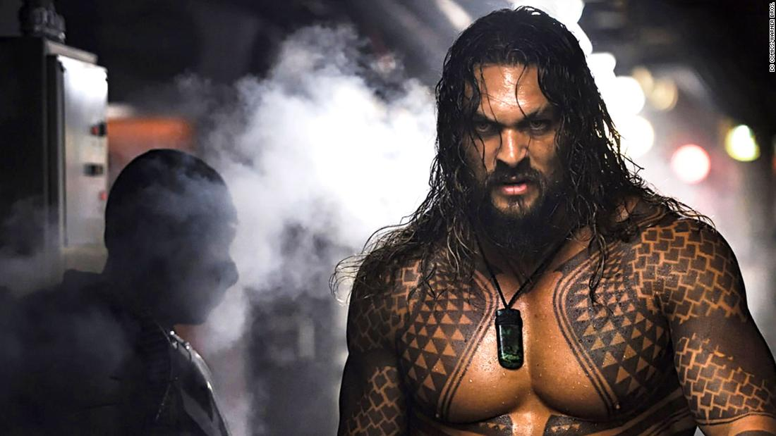 "Jason Momoa stars as ""Aquaman."""
