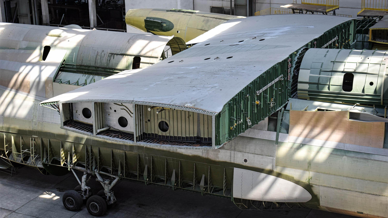 Antonov An-225: Enormous, unfinished plane lies hidden in