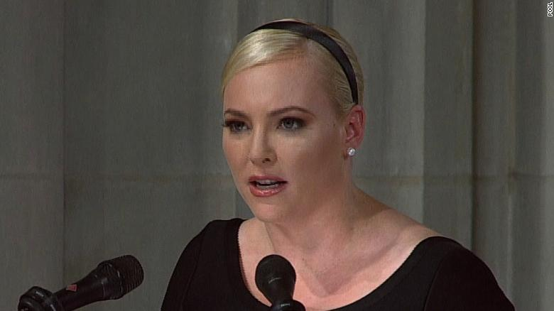 Meghan McCain Returns To 'The View' After Father's Death