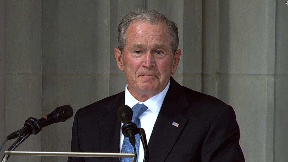 READ: Former President George W. Bush's eulogy for Sen. John McCain
