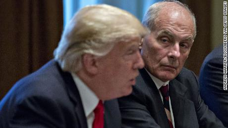 Trump makes it official. John Kelly on the way out