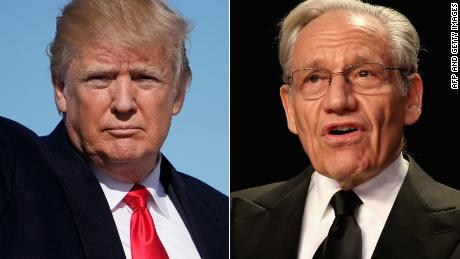Amid outrage over Woodward book, Trump comments on libel laws
