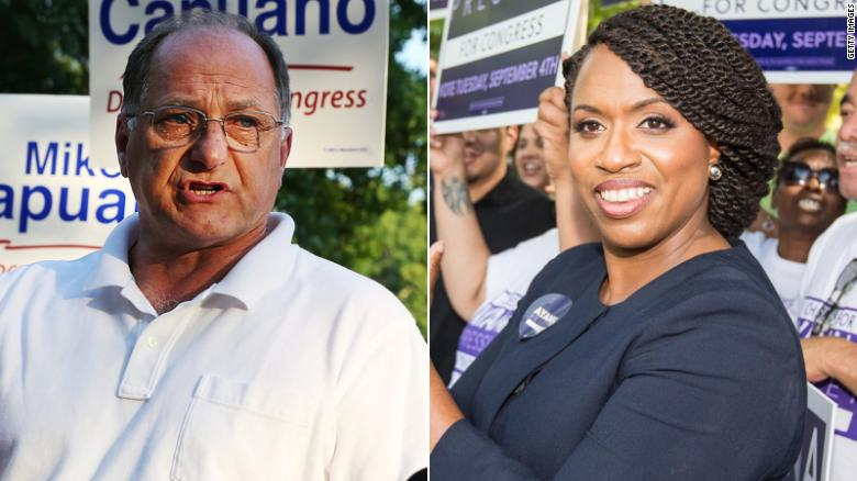 Ayana Pressley: African-American woman wins MA primary