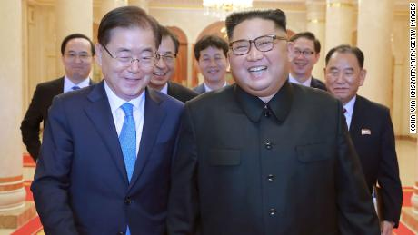 Two Koreas to hold summit as Kim renews denuclearisation pledge
