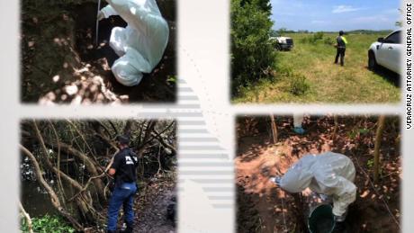 Mexico: 166 skulls found in mass graves in Veracruz state