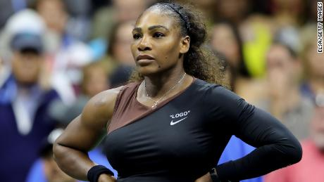 Serena Williams was fined $17,000 for her outburst at the US Open.
