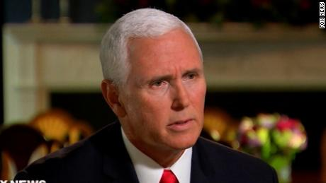Pence denies discussing plan to remove Trump from power