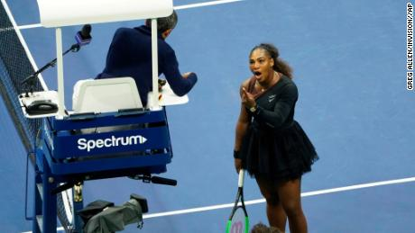 Serena Williams became embroiled in a heated debate with the chair umpire in the 2018 US Open final.
