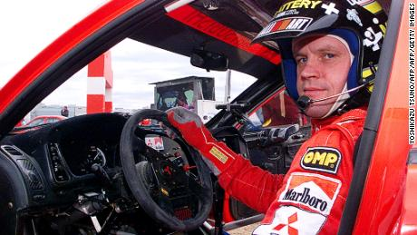 Mäkinen was the first rally driver to win four consecutive championships.