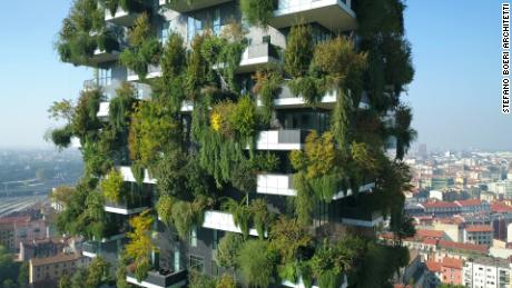 The architect transforming cities into 'vertical forests'
