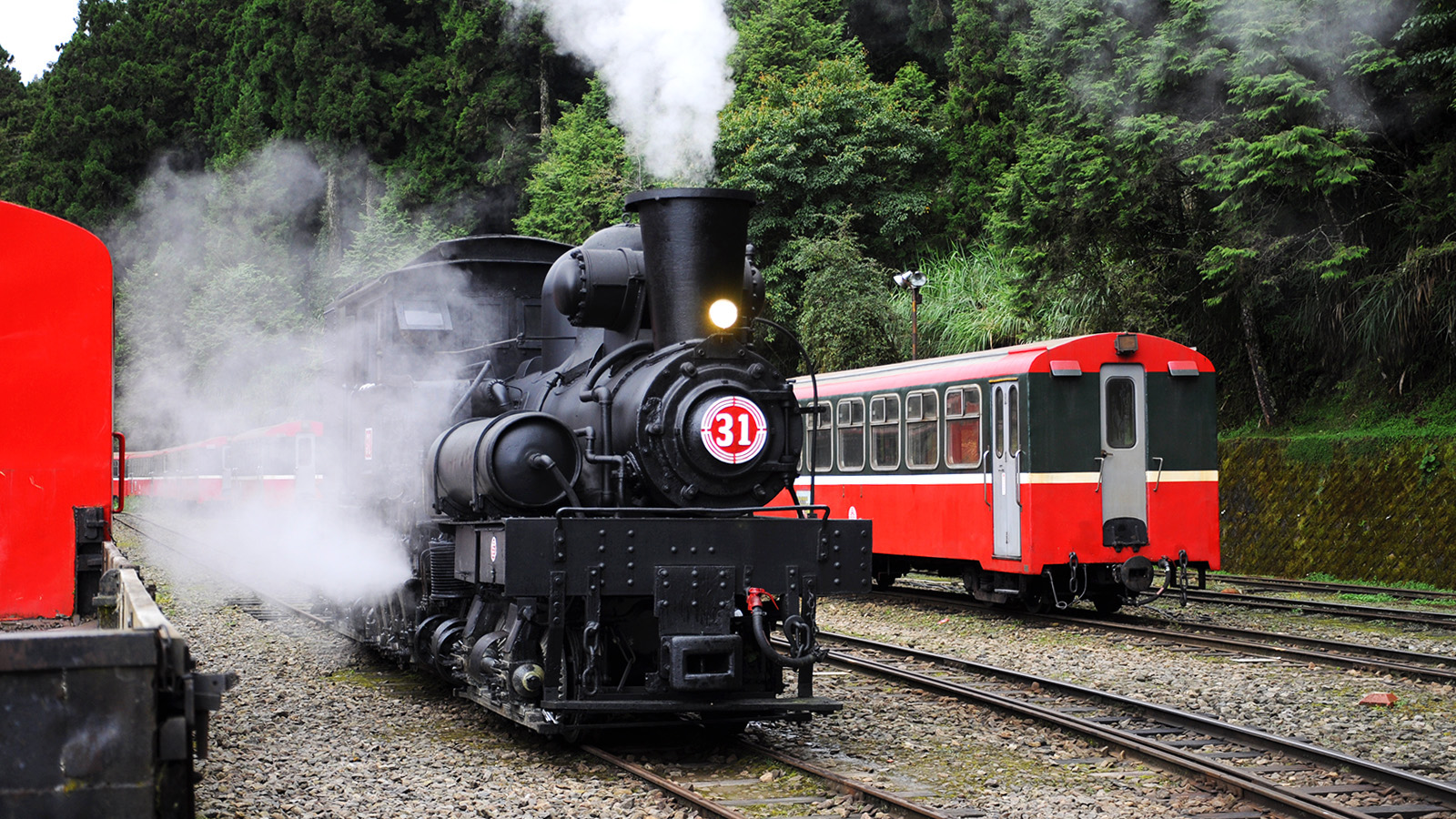 In Alishan, ride Taiwan's mountain railway over a century