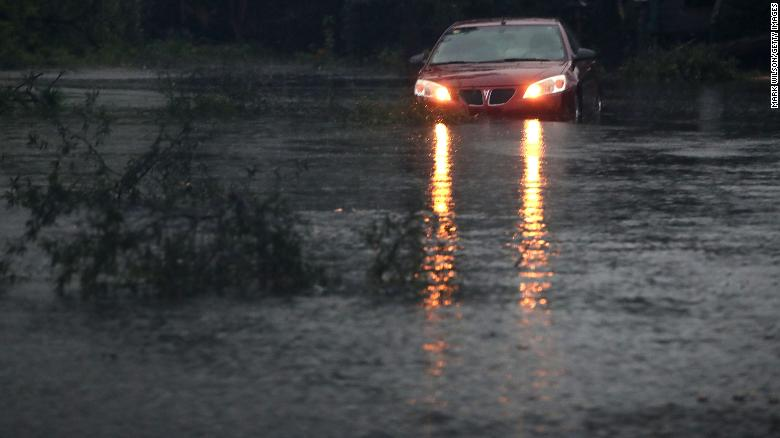 2 'detainees' drown as van swept into South Carolina flood waters