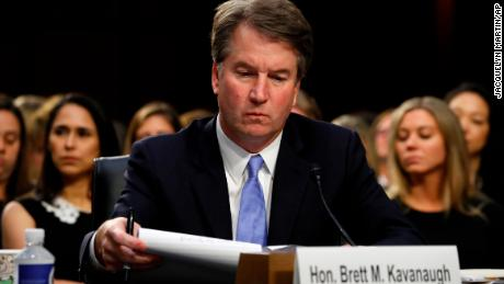 Kavanaugh: I won't be intimidated into withdrawing nomination