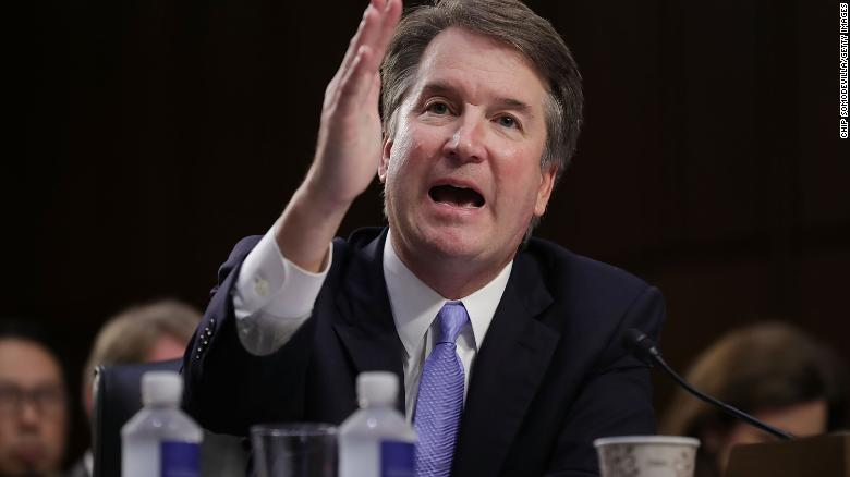 Kavanaugh clashes with Democratic senator over yearbook entries