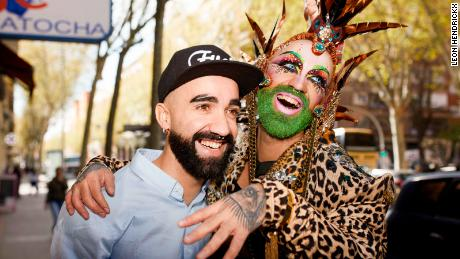 "Léon Hendrickx's ""Kings & Queens"" shows drag queens posing - with themselves - CNN Style"