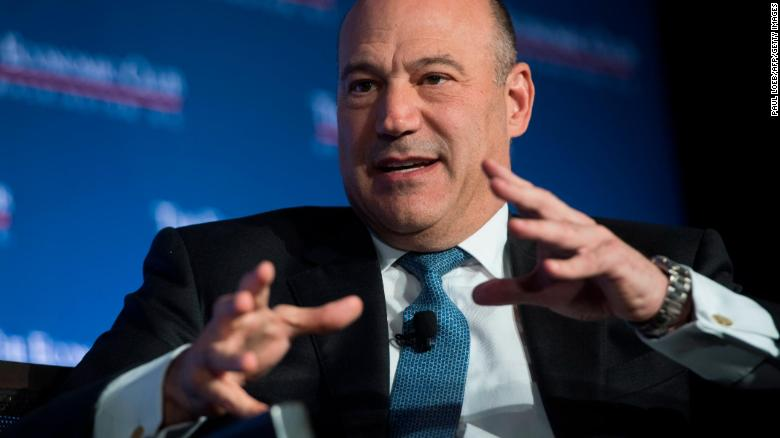 Trump pressured Gary Cohn to block AT&T-Time Warner merger