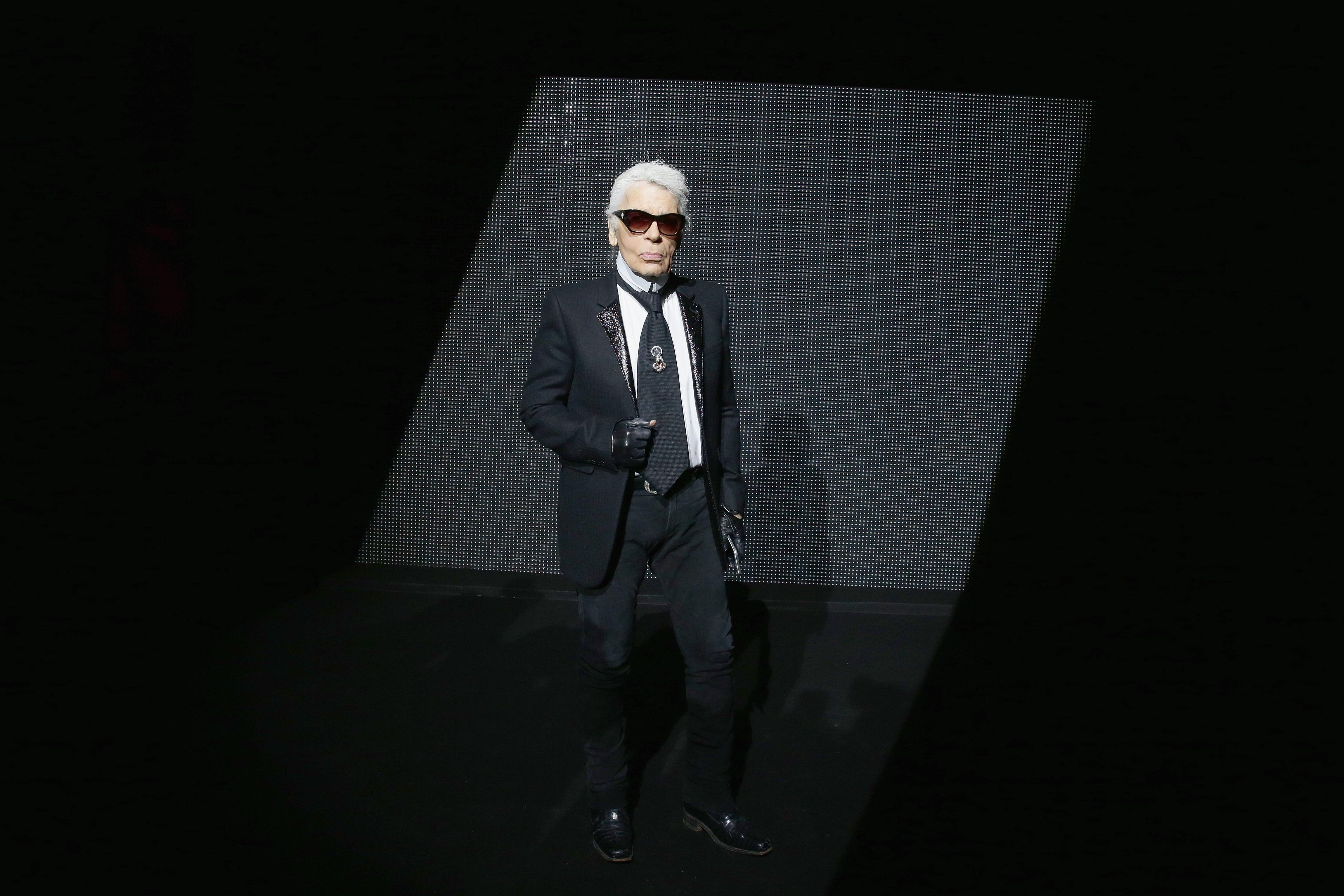 058734076 Chanel creative director Karl Lagerfeld redefined fashion - CNN Style