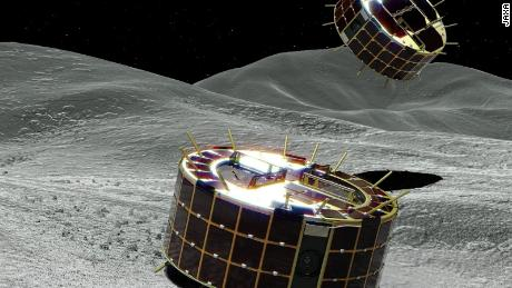 Japan's Hayabusa asteroid rovers send back first footage