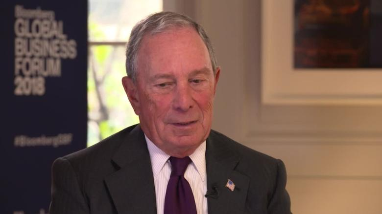 Bloomberg hints at U.S. presidential run in 2020