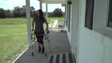 180923174107 kelly thomas 12 large 169 - 'Amazing' treatment helps paralyzed people walk again