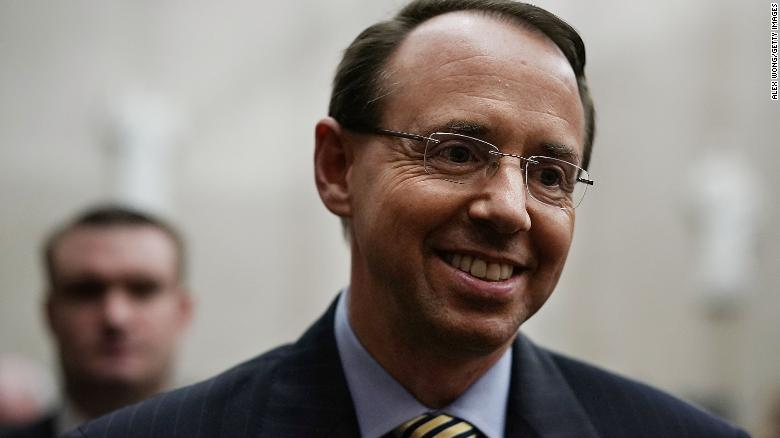 White House: Rosenstein Hasn't Been Fired, Will Meet With Trump On Thursday